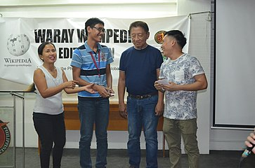 9th Waray Wikipedia Edit-a-thon 35.JPG