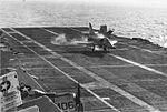 A-4B of VA-15 lands aboard USS Intrepid (CVS-11) in 1966.jpg