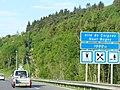 A40 Panneau D46a aire de Ceignes Haut-Bugey 1000 m.jpg