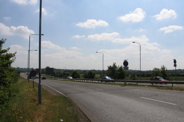 A6 towards Leicester - geograph.org.uk - 187690
