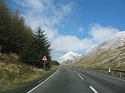 A82 looking north to Beinn Dorain - geograph.org.uk - 72440.jpg