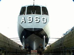 A960 in Drydock p7, Antwerp, Belgium.JPG