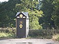 AA Phone Box 161 (Nantyffin) at junction of A479 with A40 - geograph.org.uk - 852683.jpg