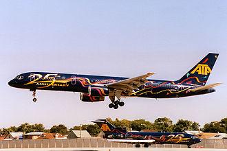 ATA Airlines - Image: ATA 25th Anniversary