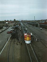 サンタフェ鉄道の豪華列車「スーパーチーフ号」がシカゴとロサンゼルス間を運転開始