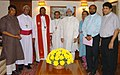 A Christian delegation from CBCI led by Most Rev. Vincent Concessao, Archbishop of Delhi called on the Prime Minister, Dr. Manmohan Singh, in New Delhi on August 28, 2008.jpg