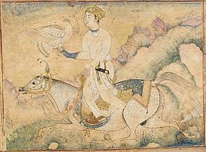 Ibrahim Adil Shah II - A Deccani courtier who may or may not be the king himself, c.1600