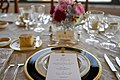 A Menu and Table Setting at Working Dinner (42414829882).jpg
