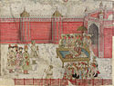 A Nawab of Awadh, Lucknow, India. 19th century