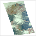 A Visible Look at Category 1 Hurricane Michael (45204223501).png