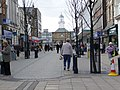 A busy lunchtime in King Street, South Shields - geograph.org.uk - 1740317.jpg