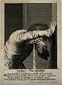 A man vomiting after overeating and drinking; representing t Wellcome V0007702.jpg