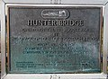 A plaque on Hunter Bridge at Kelso - geograph.org.uk - 1542485.jpg