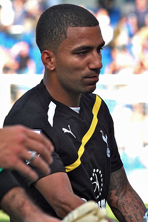 Aaron Lennon - Lennon playing for Tottenham Hotspur in 2011