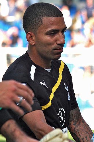 Aaron Lennon - Lennon playing for Tottenham Hotspur in 2011