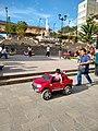 Abancay Peru- Plaza Micaela Bastidas- toy truck boy.jpg