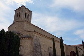 Le Barroux - Image: Abbaye du Barroux abbatiale