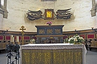 Abbazia di Santa Giustina (St Luc)