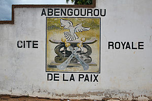 Abengourou, royal city of peace