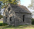 Abram Click farmstead washhouse from SW 1.JPG