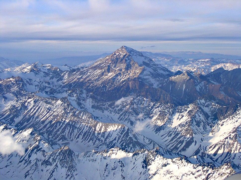 Aconcagua (aerial)