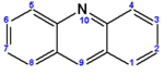 Acridine (numbered).png
