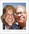 Adam Curry and John C. Dvorak - Caricature (5619577744).jpg