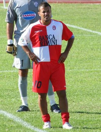 Adrián Ricchiuti - Image: Adrián Ricchiuti Rimini Juventus 2006
