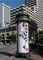 Advertising kiosk on the streets of downtown San Francisco, California LCCN2013630083.tif
