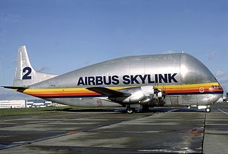 Airbus Beluga - Airbus Skylink Super Guppy in 1984