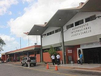 Josefa Camejo International Airport - Image: Aeropuerto internacional josefa camejo venezuela