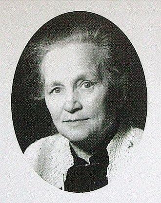 Agda Östlund - Image: Agda Östlund rösträtt