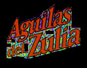 Águilas del Zulia - Image: Aguilas del zulia (logo texto)