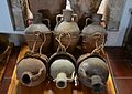 Aiguaderes d'espart per transportar líquids en una cavalleria, Museu Soler Blasco, Xàbia.JPG