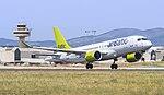 Air Baltic Bombardier CS300 YL-CSA (34827818353).jpg