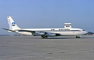 2002 Prestige Airlines Boeing 707 crash - A 707 similar to the accident aircraft