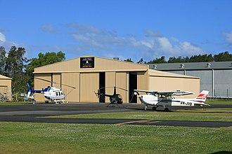 Ballina Byron Gateway Airport - Image: Air T&G Hangar