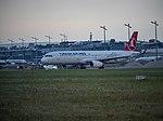 Airbus A321 (TC-JTE) of Turkish Airlines at Nuremberg Airport (41187870085).jpg