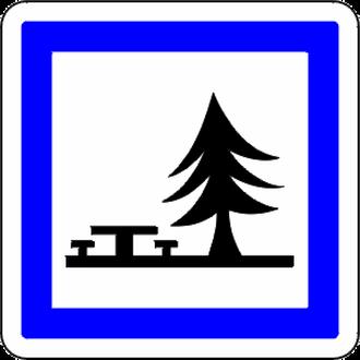A40 autoroute - Image: Aire de pique nique