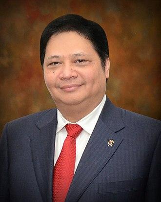 2019 Indonesian general election - Airlangga Hartarto