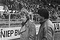 Ajax tegen MVV 3-6 trainer Beenhakker (Ajax) en La Ling, Bestanddeelnr 930-7809.jpg