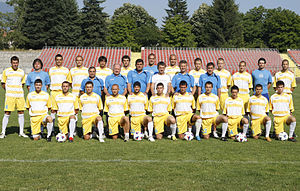PFC Akademik Sofia - 2009–10 team, which won promotion to A Group.