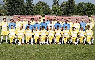 PFC Akademik Sofia - 2009–10 team, which won promotion to A Group.