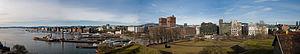 Aker Brygge - Image: Aker Brygge and Vika Panorama