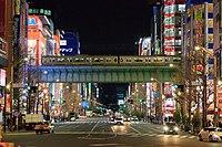 Akihabara Main Street north side at night (2017-03-12 20.48.21 by yagi-s).jpg