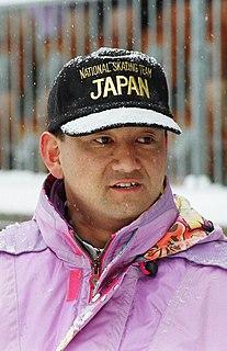 Japanese speed skater