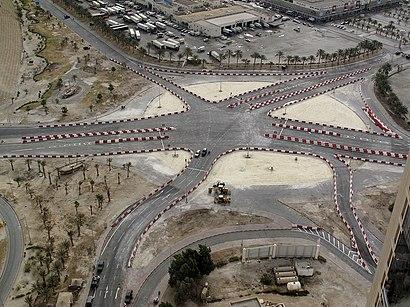 كيفية الوصول إلى دوار اللؤلؤه بواسطة النقل العام- حول المكان