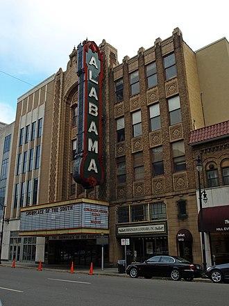 Alabama Theatre - Image: Alabama Theatre Nov 2011 01