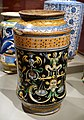 Albarello, Italy, Siena, c. 1500-1510, maiolica - Wadsworth Atheneum - Hartford, CT - DSC05110.jpg