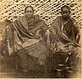 Albumen photograph of Indian ladies (c. 1860s).jpg